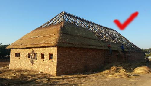 build according to sabs standard - Thatched Rood